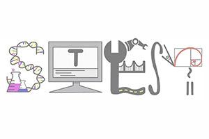 Get Girls in STEM Logo