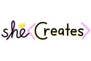 She Creates Logo