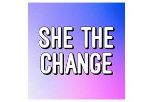 She The Change Logo