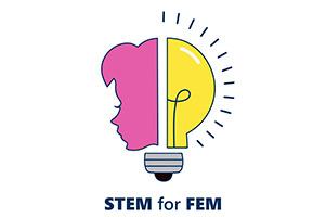 STEM for Fem Logo