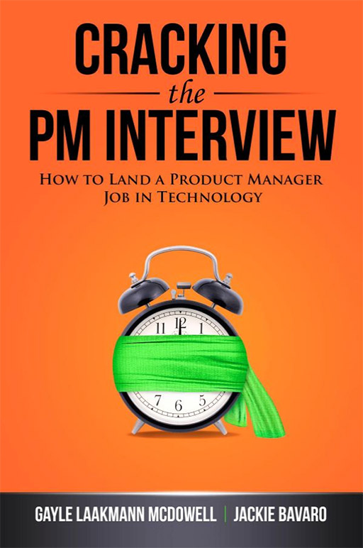Cracking the PM Interview Book Cover