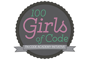 100 Girls of Code Logo