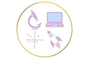 Girls in STEM Logo