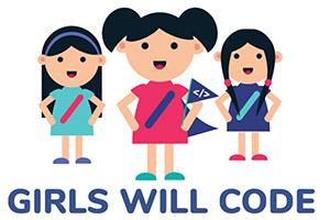 Girls Will Code Logo
