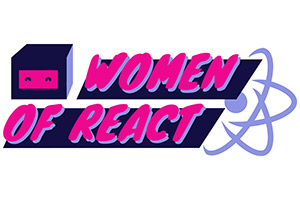 Women of React Logo