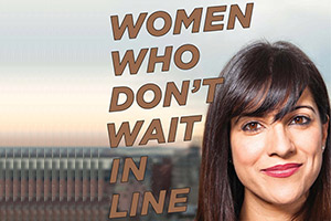 Women Who Don't Wait in Line Book Cover