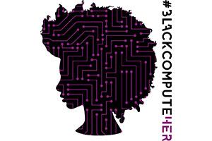 Black Compute Her Logo