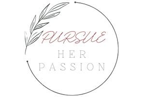 Pursue Her Passion Logo
