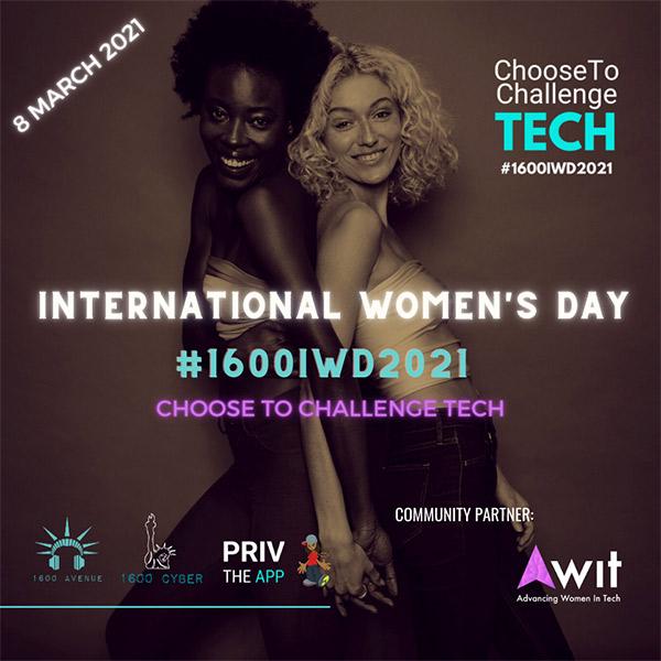 International Women's Day - Choose to Challenge Tech
