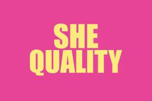 She Quality Logo