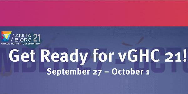 Virtual Grace Hopper Celebration 2021