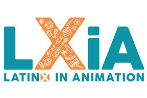 LatinX in Animation Logo