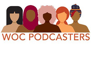 WOC Podcasters Logo